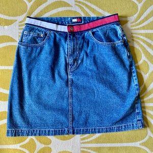 Vintage Tommy Hilfiger High-waisted Denim Skirt
